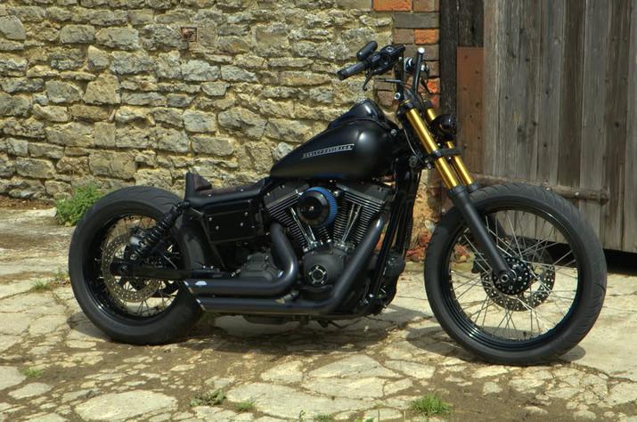 Harley-Davidson Dyna Street Bob 'Pintail Bob'