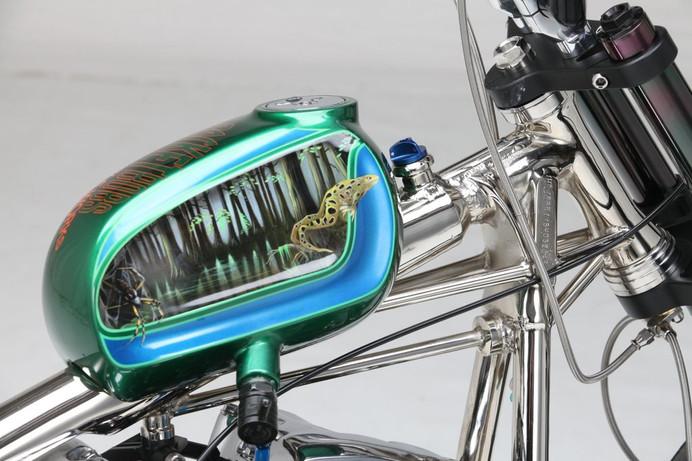 Custom Harley Davidson 'Swamp Water'
