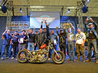 Gas'd Rat wins BEST IN SHOW at the International CustomBike Championship in Germany!!