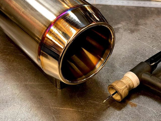 TIB welded exhaust