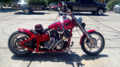 Corey's Harley Rocker C
