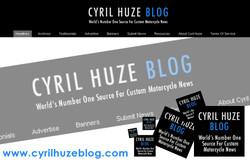 CYRIL HUZE - A ROCKET CHOPPER