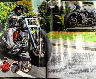 YAYY!! This months MondoBiker Magazine, my lil psycho bastard.