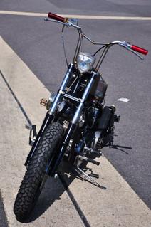 Harley-Davidson Rigid 1977 Shovelhead 'Hipster Killer'