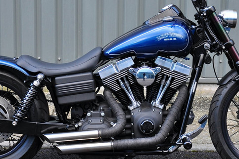 Customised Harley Street Bob