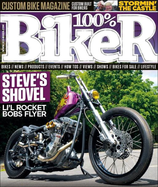 Taxtabash in 100% Biker magazine