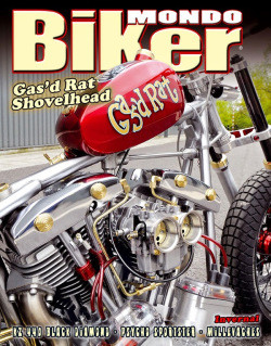 Gas'd Rat goes to Spain – Mondo Biker magazine feature