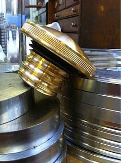 Brass Gas Caps