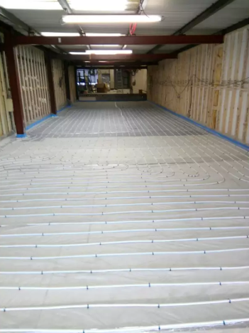 Underfloor heating C2Energy