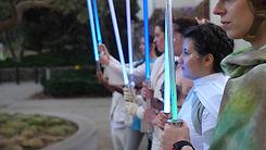 Carrie lightsaber salute.jpg