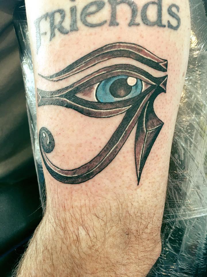 Chad eye of Raw