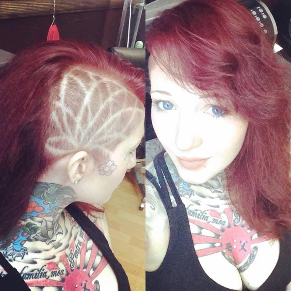 Jamy on the Hair design