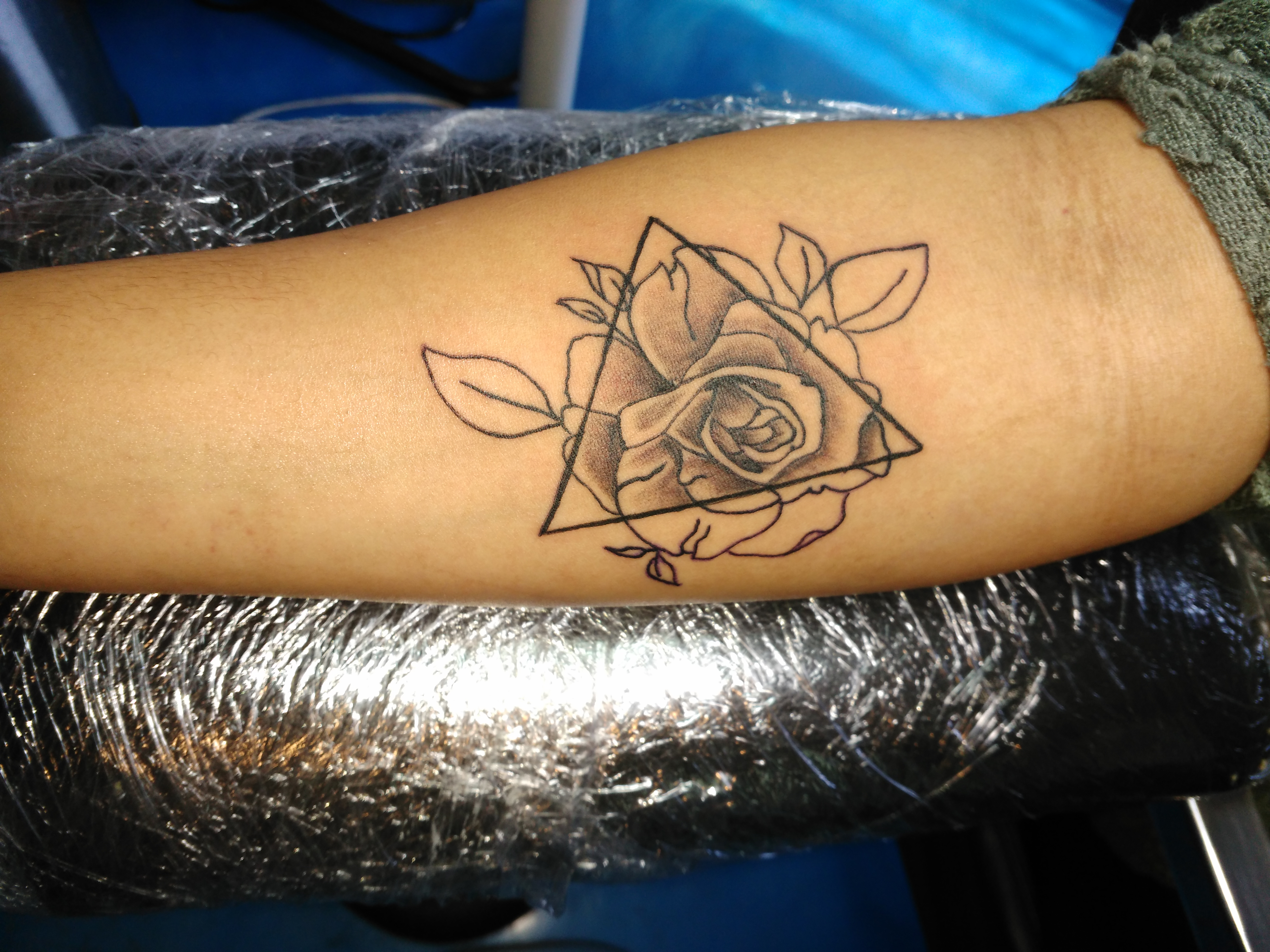 Jamy's spin on the rose