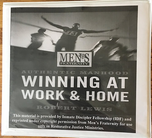 Men's Fraternity: Winning at Work and Home - DVD