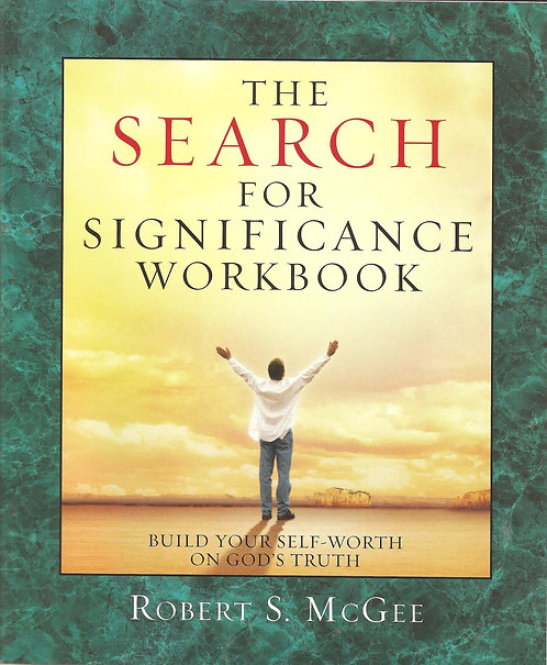 Search for Significance Workbook Revised by Robert McGee