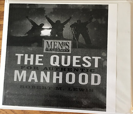 Men's Fraternity: Quest for Authentic Manhood - DVD