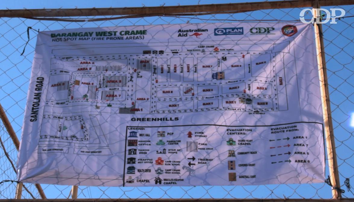 Hazard and Resource Map