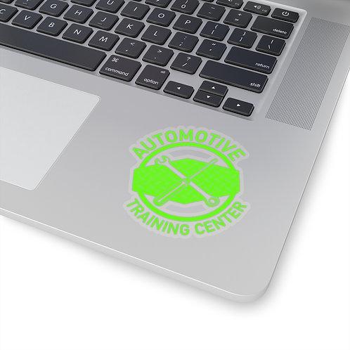 Logo sticker - Lime Green