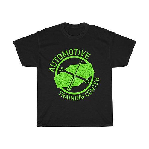 Short Sleeve Tee - Lime Green Logo