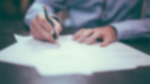 assinar borrão