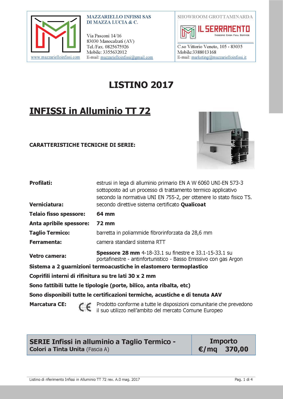 03_Listino ALLUMINIO_TT_72_MAZZARIELLO_A4F_Pagina_1