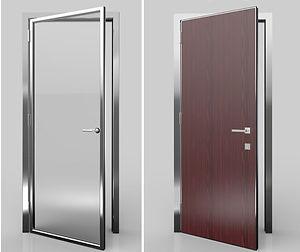 Porte interne in alluminio