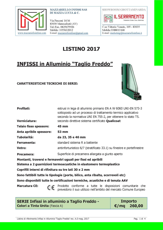 02_Listino ALLUMINIO_FREDDO_MAZZARIELLO_A4F_Pagina_1