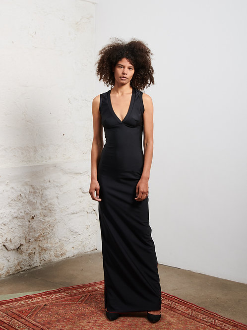 La robe découpe poitrine by XULY.Bët