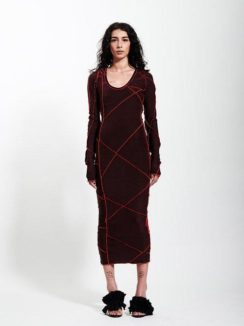 La robe hoodie surpiquée 'ICONIC' by XULY.Bët
