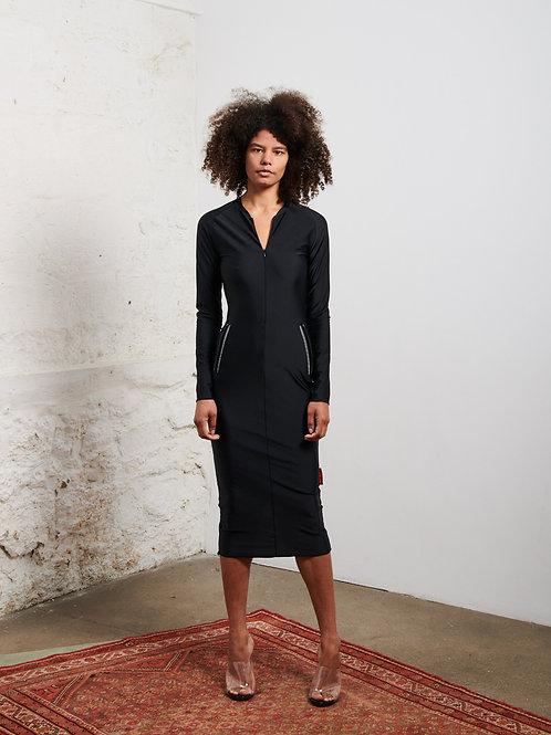 La robe midi 'CYCLISTE' by XULY.Bët