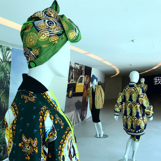 XULY.Bët at the African Metropolis Exhibition at the Maxxi Museo, Rome, 2018.