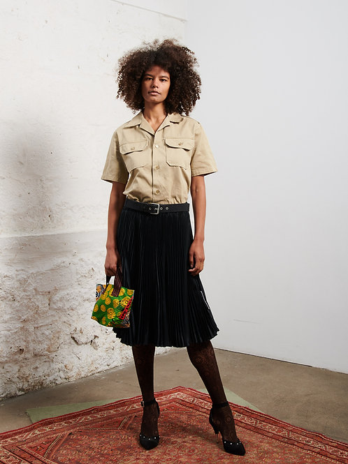 La jupe plissée '100% recycled' by XULY.Bët