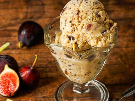 FIG CREAM CHEESE ICE CREAM FOR A GUILT-FREE INDULGENCE