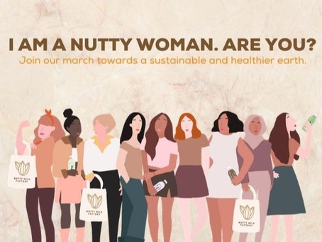 HOW CAN A NUTTY WOMAN SAVE THE PLANET?