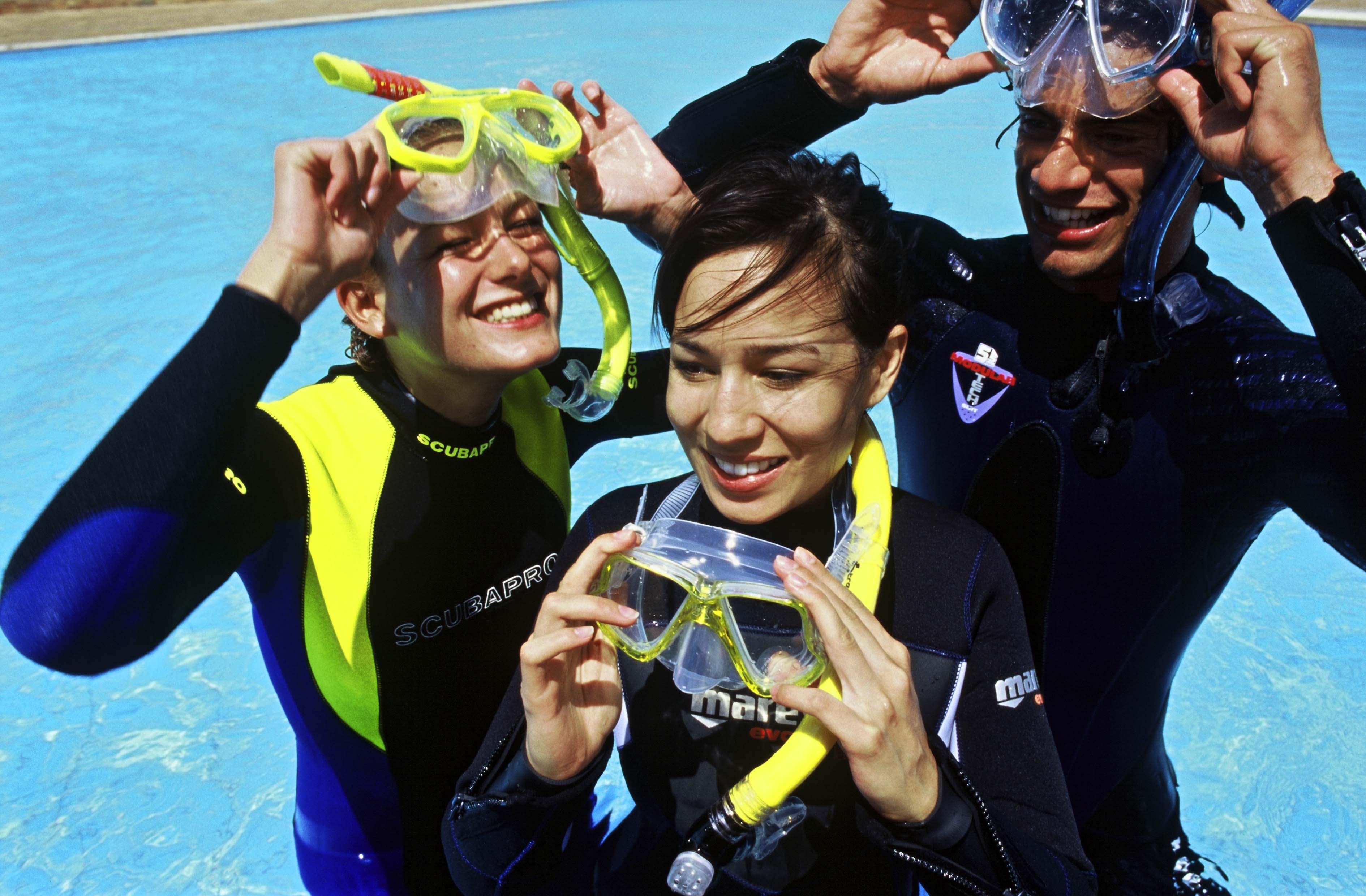 Diving courses Mauritius