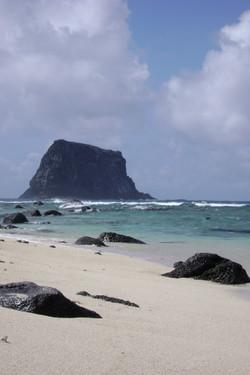 Abandoned shark pit Rock