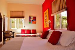 Bed room Bleu Mauritius