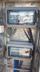 Electrical installation for Aquaponics