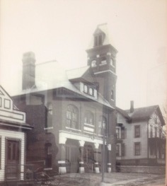 Cherry St Station 1800's