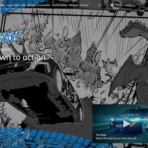 BMW's Global Campaign Launches Manga