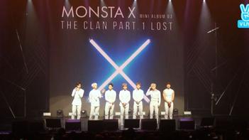 2016년 5월 18일 V LIVE 몬스타엑스 -몬스타엑스 <THE CLAN PART.1 LOST> 쇼케이스-