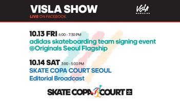 2017년 10월 14일 VISLA 스케이트 코파 인 서울