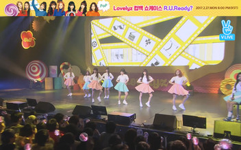2017년 2월 27일 V LIVE Lovelyz Comeback Showcase [R U Ready?]