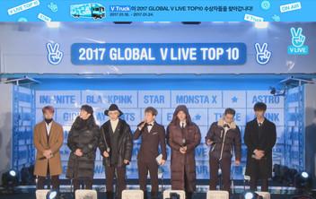 2017년 1월 24일 V LIVE 2017 GLOBAL V LIVE TOP10 - BTOB