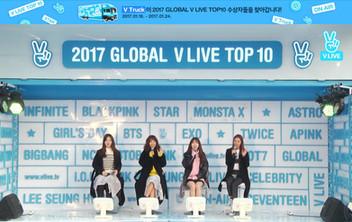 2017년 1월 19일 V LIVE 2017 GLOBAL V LIVE TOP10 - Girl's Day