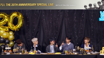 2017년 4월 27일[V LIVE] SECHSKIES 'THE 20TH ANNIVERSARY' SPECIAL LIVE