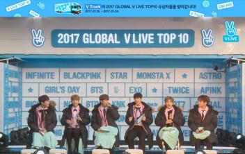 2017년 1월 24일 V LIVE 2017 GLOBAL V LIVE TOP10 - ASTRO