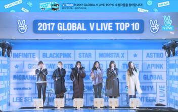 2017년 1월 22일 V LIVE 2017 GLOBAL V LIVE TOP10 - Apink