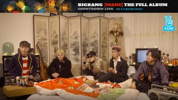 2016년 12월 12일 V LIVE BIGBANG [MADE THE FULL ALBUM] COUNTDOWN LIVE