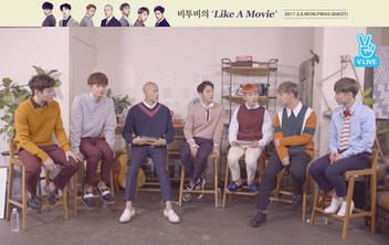 2017년 3월 6일 V LIVE 비투비의 'Like A Movie'